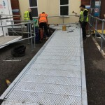 Bespoke solution wheelchair ramp